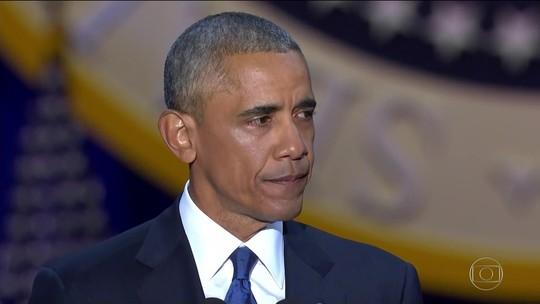 'Sim, nós fizemos', diz Obama em discurso emocionado de despedida