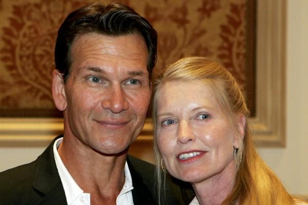 O ator Patrick Swayze e sua viúva, Lisa Niemi (Foto: Getty Images)