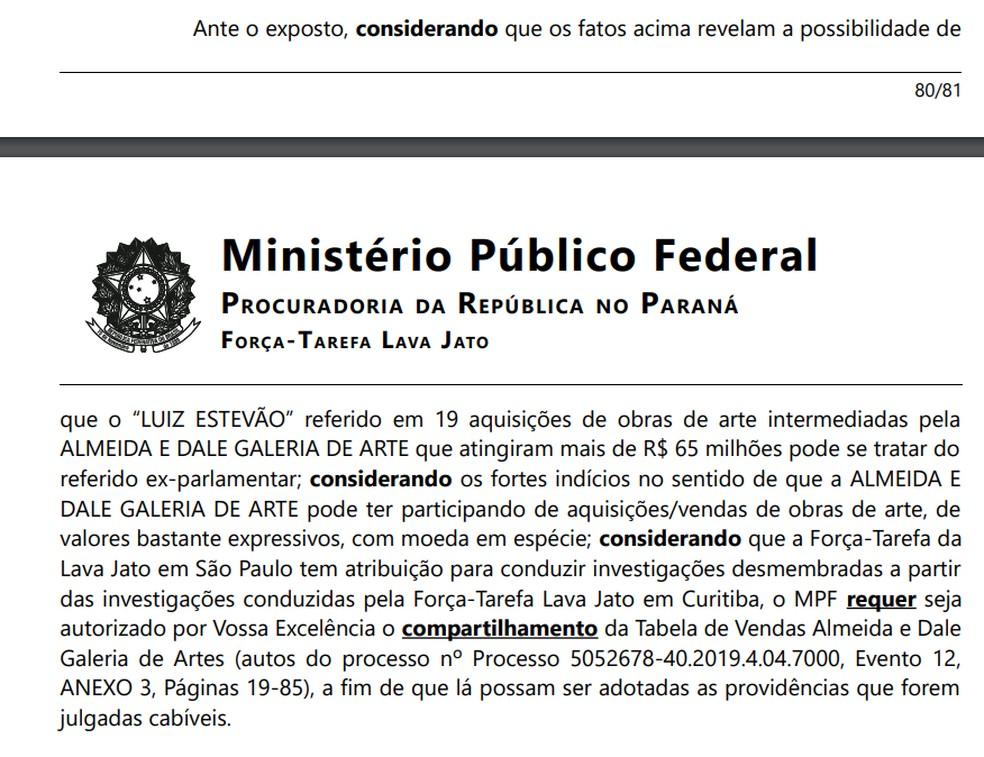 MPF investiga compra de obras de arte por Luiz Estevão — Foto: Reprodução