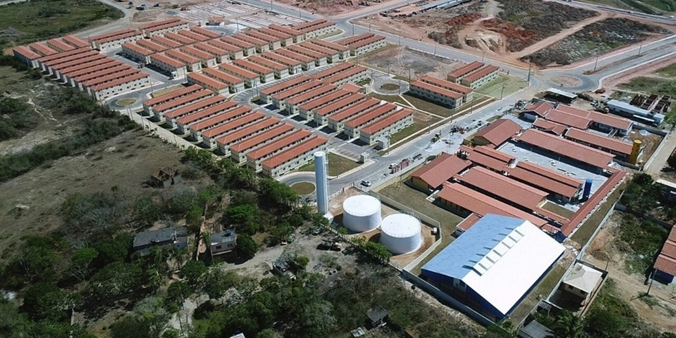 Empreendimento Monte Carlo terá 1800 unidades e deve abrigar 5000 pessoas, em Cabo Frio (Foto: Divulgação/Prefeitura de Cabo Frio)