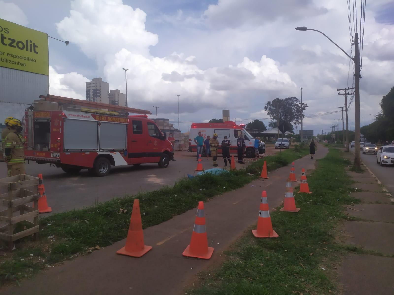 Homem morre atropelado pelo próprio carro durante conserto do veículo, no DF