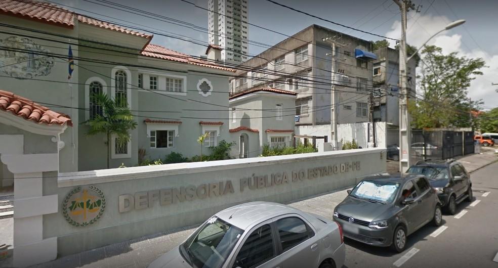 Concurso público da Defensoria Pública de Pernambuco inscreve até 23 de outubro de 2017 (Foto: Reprodução/Google Street View)