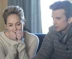 Sharon Stone e Frederick Weller em cena de 'Mosaic' | Claudette Barius/HBO