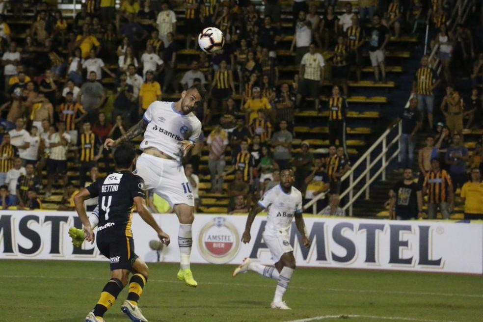 Vizeu perde chance contra o Rosário — Foto: Eduardo Moura/GloboEsporte.com