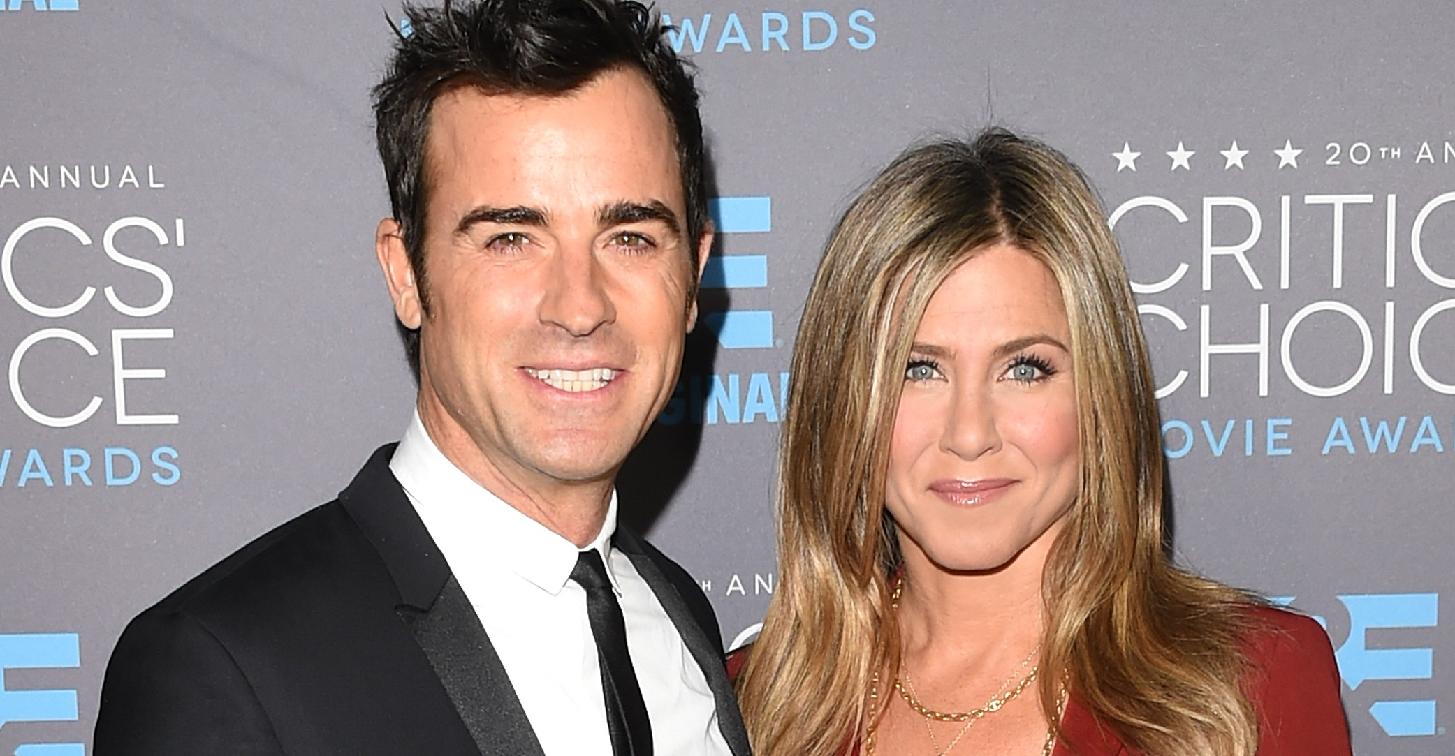 Jennifer Aniston e Justin Theroux. (Foto: Getty Images)