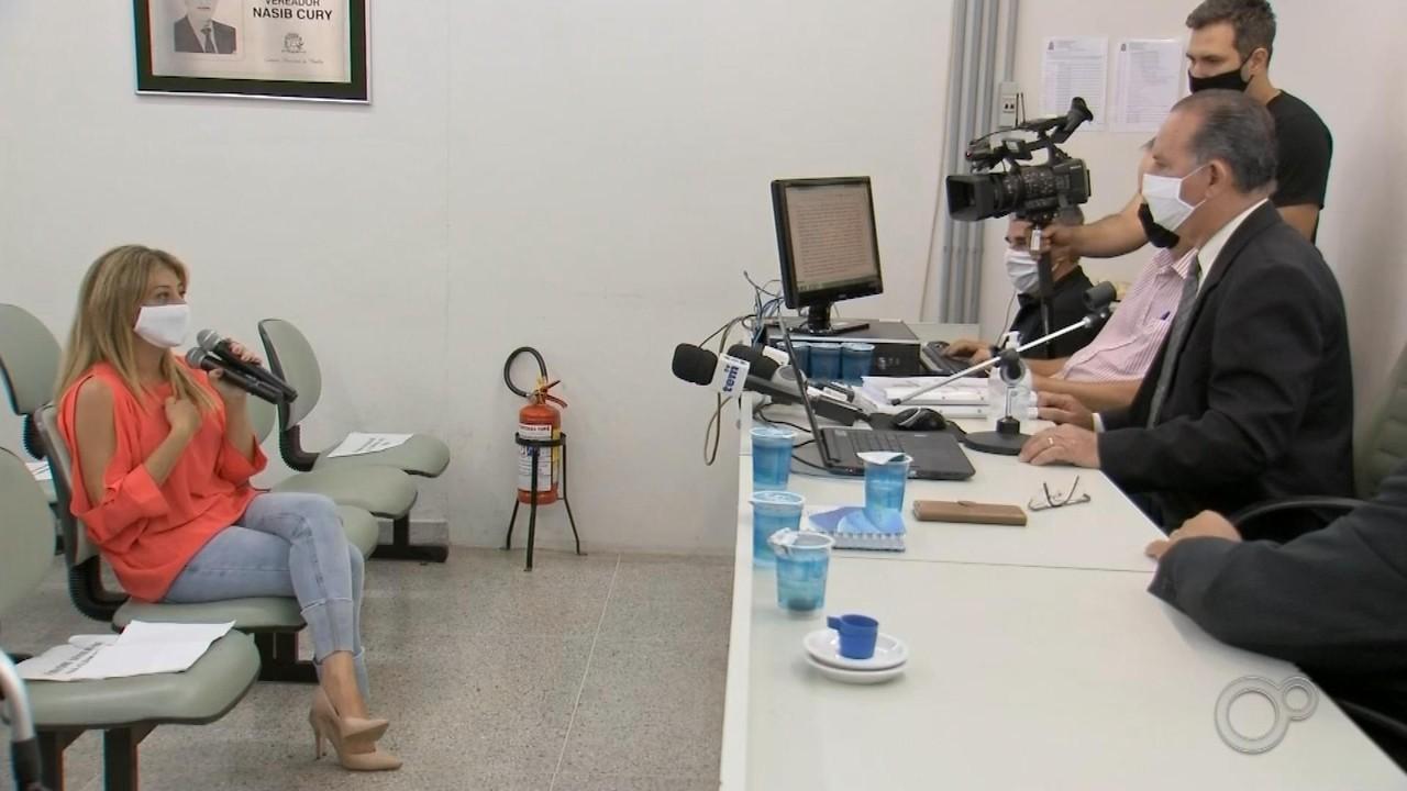 Vereadora de Marília investigada após pedir para não ter carro guinchado depõe na CP