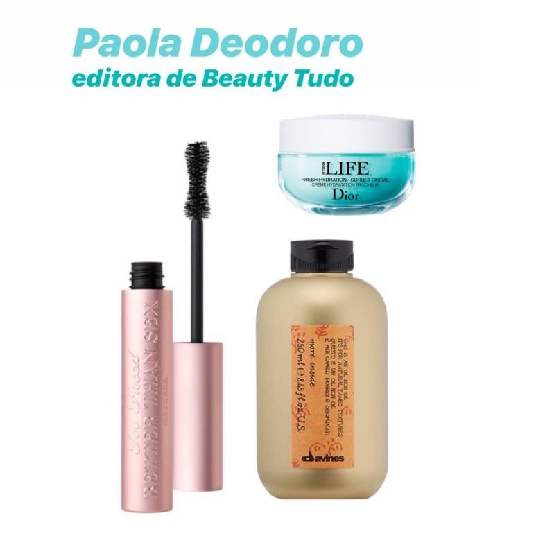 Paola Deodoro, Beauty Tudo 2018 (Foto: Divulgação)