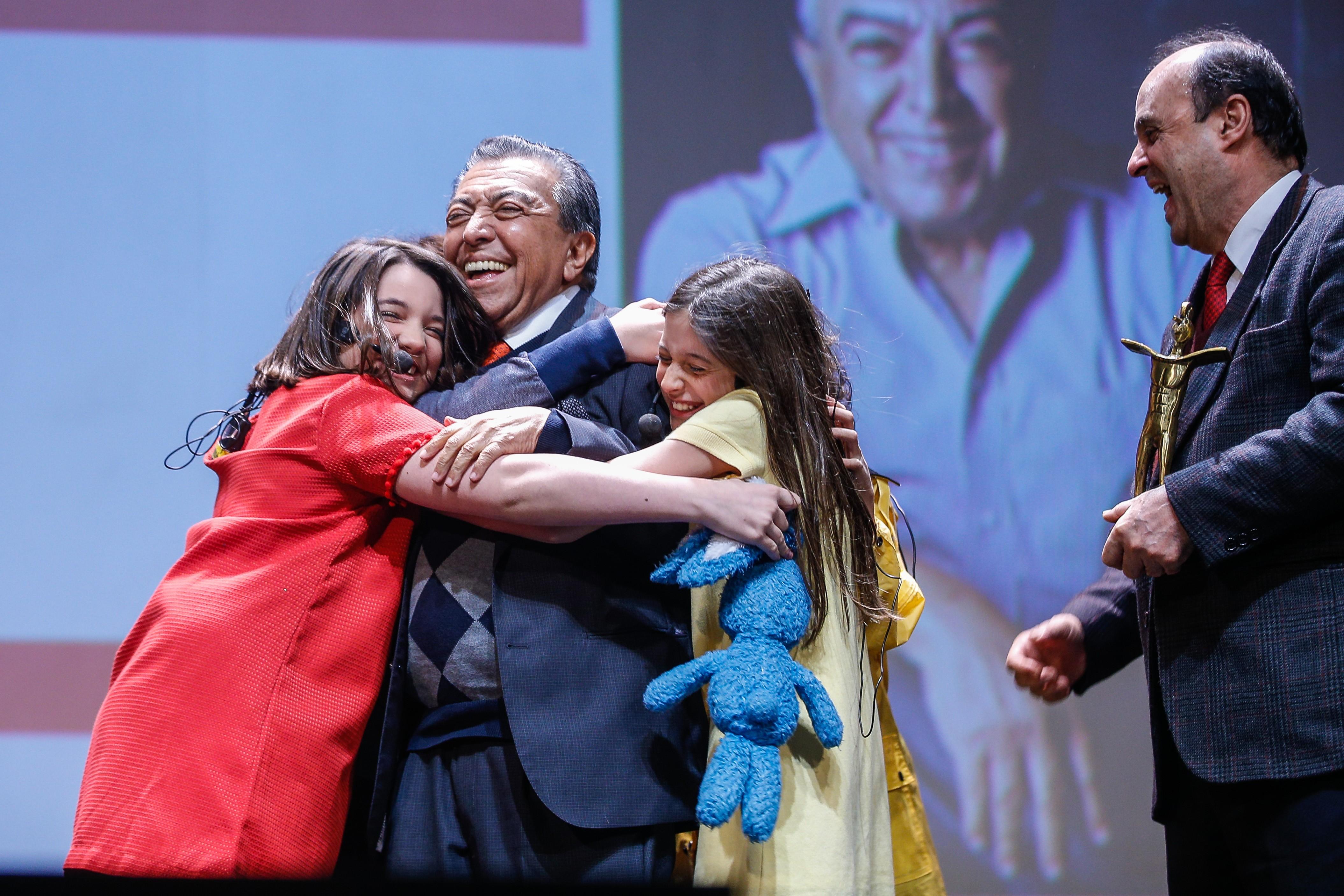 Mauricio de Sousa recebe homenagem no Festival de Cinema de Gramado  - Notícias - Plantão Diário