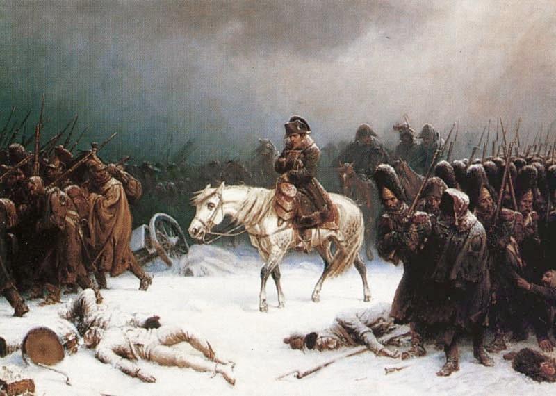 Derrota de Napoleão na Rússia (Foto: Reprodução)