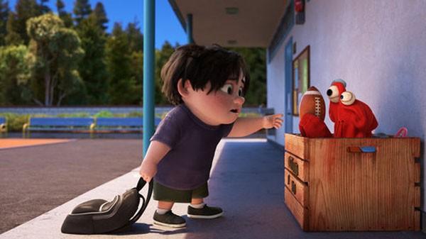 Lou, curta da Pixar, trata de bullying (Foto: Divulgação )