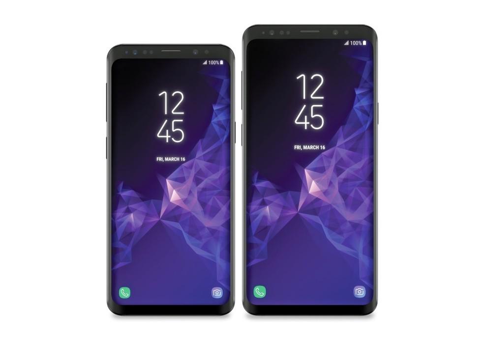 Galaxy S9 pode vir com design bem parecido com o do seu antecessor, o Galaxy S8 (Foto: Reprodução/Evan Blass/VentureBeat)
