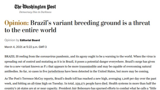 Foto: (Reprodução/Washington Post)