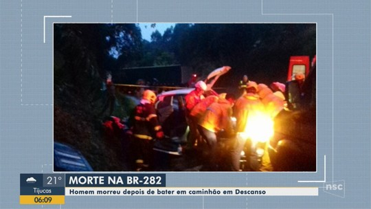 Pelo menos seis pessoas morreram nas estradas de SC durante o feriado de Páscoa