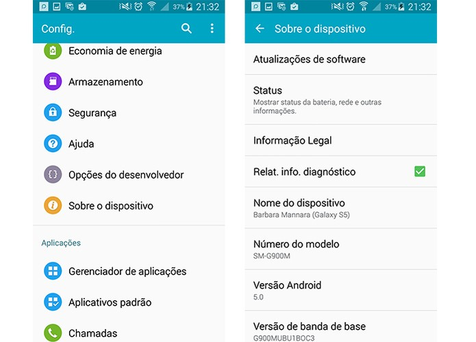 Atualize o Android com frequência (Foto: Reprodução/Barbara Mannara)