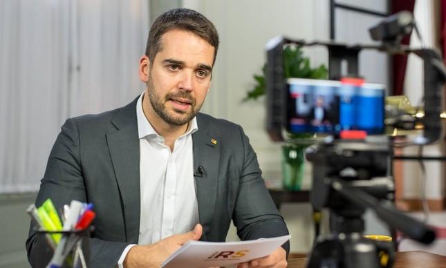 O governador gaúcho Eduardo Leite