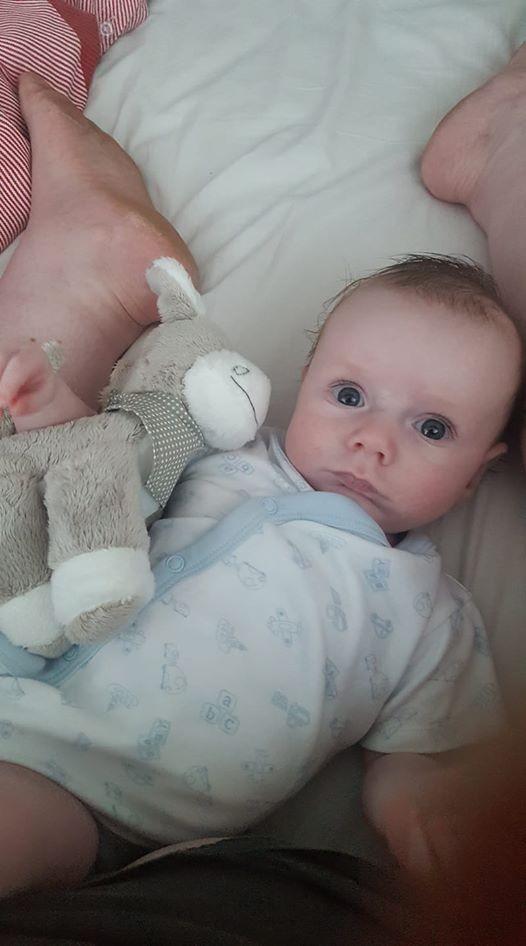 Toby, o filho que Victoria nem acreditava poder ter (Foto: Reprodução Facebook)