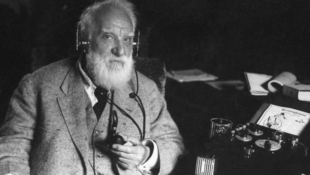 O inventor escocês Alexander Graham Bell era fascinado pela ideia de transmitir a fala (Foto: Getty Images via BBC)