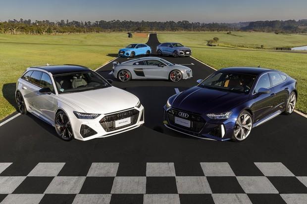 Audi linha RS (Foto: Divulgação)