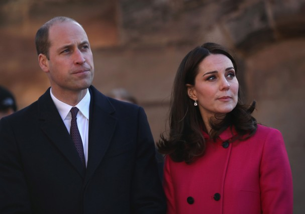 Kate Middleton e príncipe William (Foto: Getty Images)
