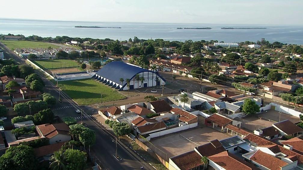 Câmera panorâmica capta imagens de Presidente Epitácio durante 24 horas por dia — Foto: Reprodução/TV Fronteira
