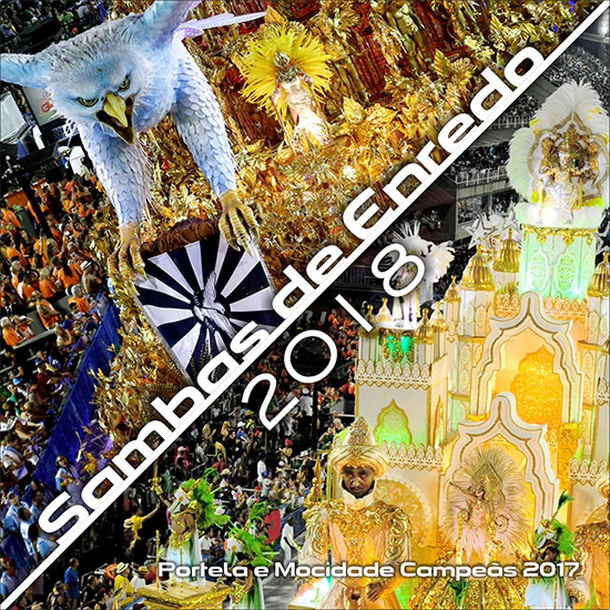 CD dos sambas do Carnaval 2018 do Grupo Especial chega às lojas em novembro