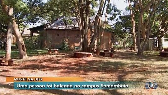 Jovem é morto a tiros dentro do Campus Samambaia da UFG, em Goiânia