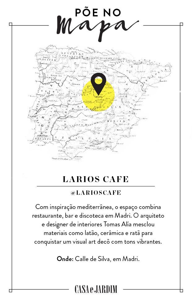 Larios Café, em Madri, na Espanha (Foto: Victor Amirabile)