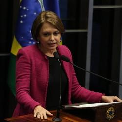 A senadora Angela Portela (PT-RR)