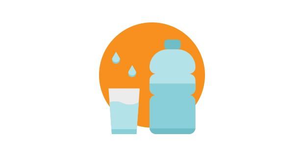 beba muito liquido (Foto:  )