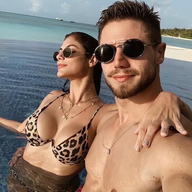 Mari Gonzalez e Jonas Sulzbach em foto no Instagram (Foto: reprodução/instagram)