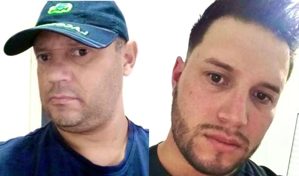 Milton Gomes de Almeida e Leonardo Proença Almeida eram de Pilar do Sul (SP) — Foto: G1 - Arquivo pessoal