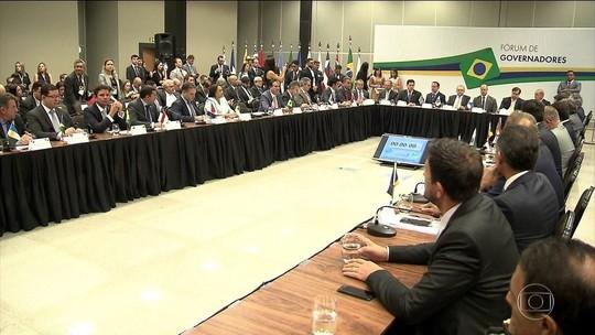 Governadores pedem ajustes na reforma e socorro financeiro
