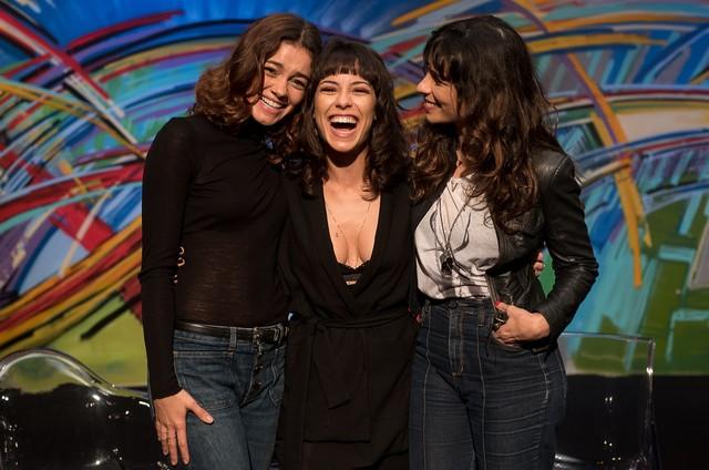 Andreia Horta com Sophie Charlotte e Maria Ribeiro (Foto: Ana Paula Amorim)