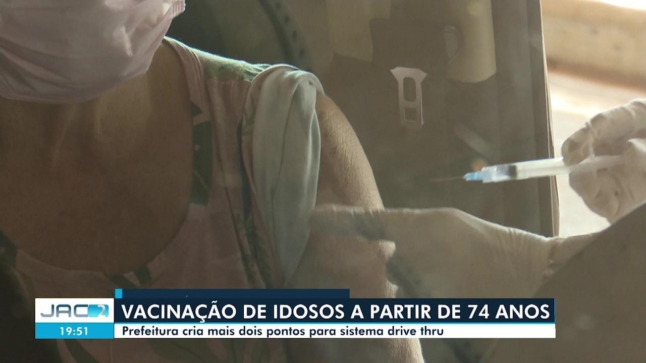 Procura por vacinas contra a Covid em Rio Branco é grande após confusão com faixa etária