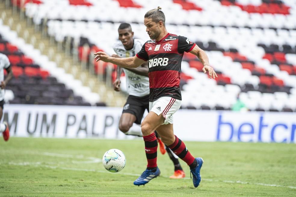 Vestiário do Flamengo teve discurso de Diego; confira
