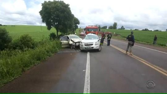 Cinco pessoas morrem em acidente na BR-158, Região Norte do Rio Grande do Sul