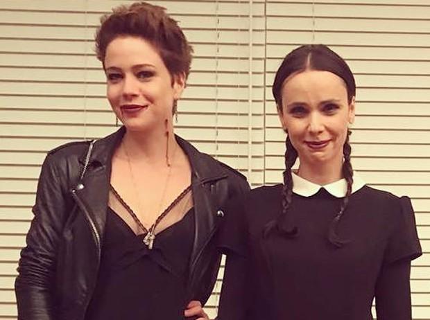 Leandra Leal e Débora Falabella  (Foto: Reprodução/Instagram)