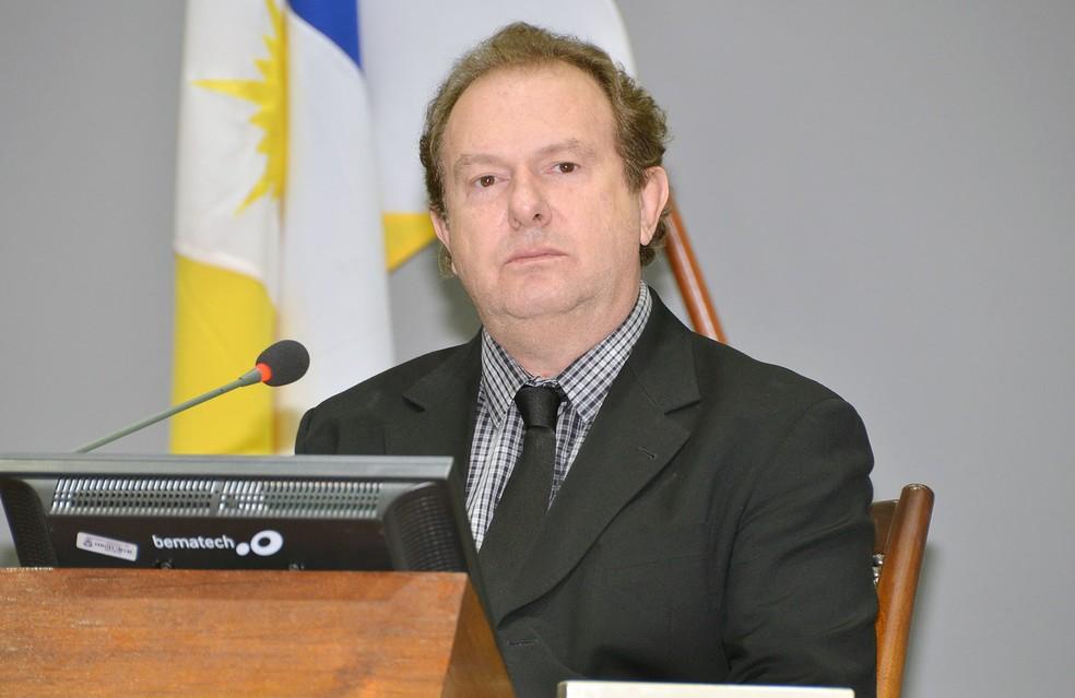 Mauro Carlesse é o governador eleito do Tocantins (Foto: Calyton Cristus/AL-TO)