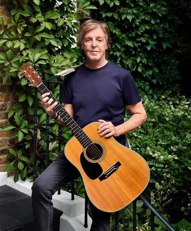 Paul McCartney (Foto: Instagram/Reprodução)