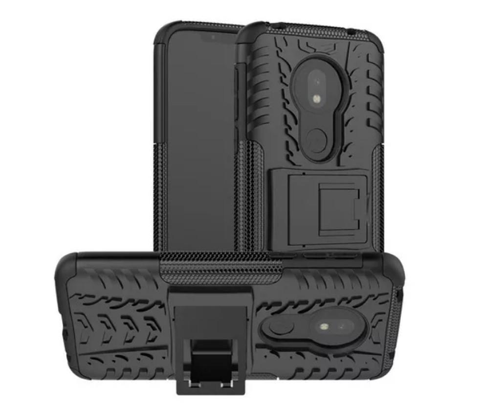 Capa armadura para Moto G7 Play — Foto: Reprodução