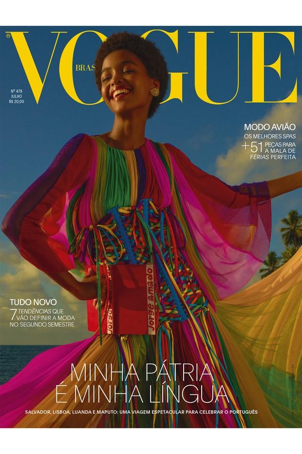 Vogue Brasil Julho 2018 (Foto: Vogue Brasil)