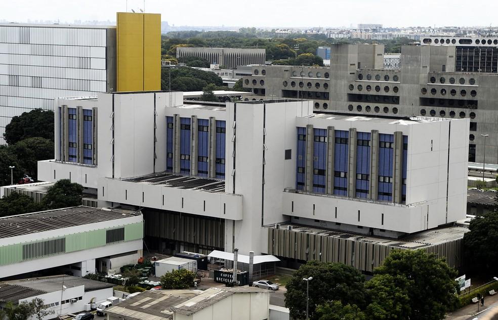 Instituto Hospital de Base de Brasília, no DF — Foto: Matheus Oliveira/ Saúde-DF