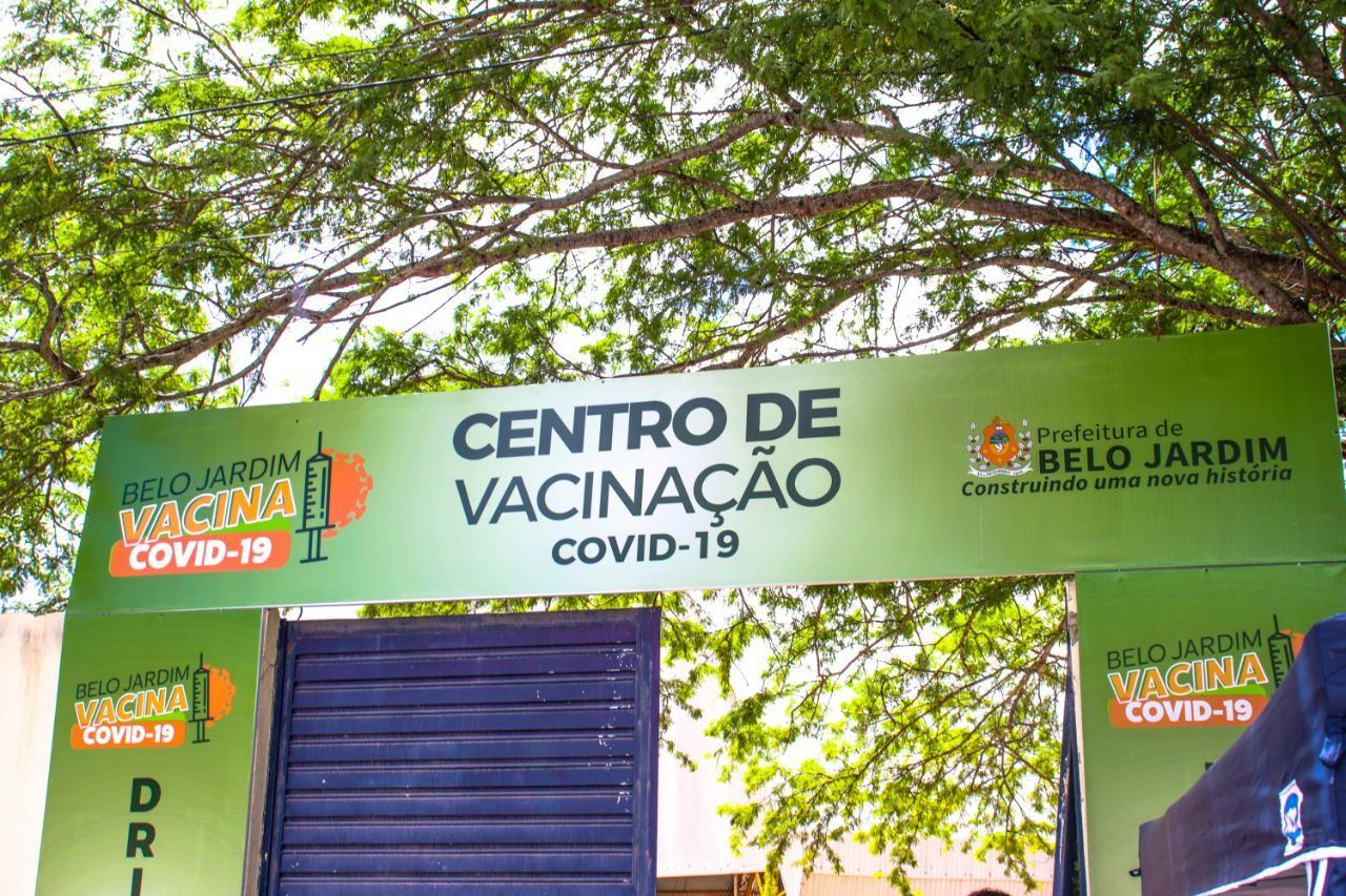 Belo Jardim convoca pessoas vacinadas com AstraZeneca até 5 de junho para receber 2ª dose