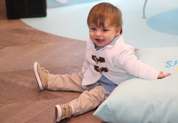Julio, filho da atriz Bruna Hamú (Foto: Manuela Scarpa/Brazil News)