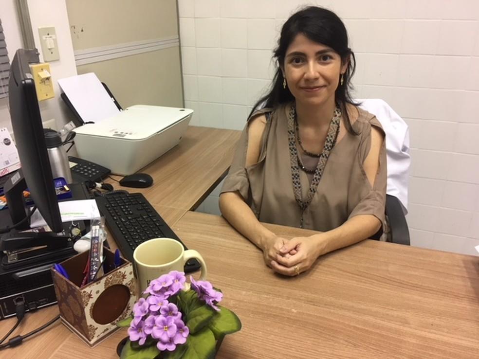 A doutora Gabriela Placoná Diniz, professora assistente do Departamento de Anatomia do Instituto de Ciências Biomédicas da USP — Foto: Acervo pessoal