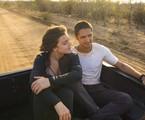 Alice Wegmann e Gabriel Leone em 'Onde nascem os fortes' | Estevam Avellar/TV Globo