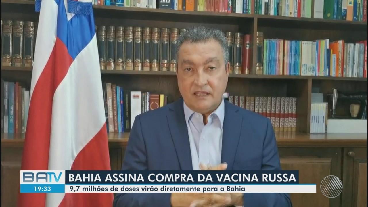 Covid-19: Rui Costa anuncia compra de quase 10 milhões de doses da vacina Sputinik V