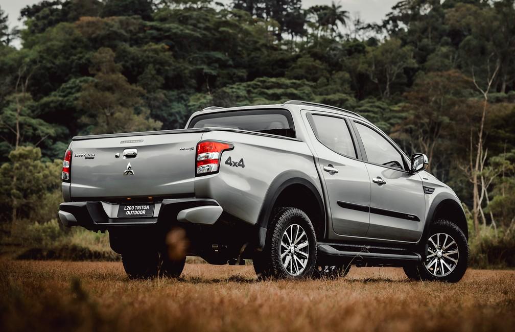 Mitsubishi L200 Triton Outdoor — Foto: Divulgação/Mitsubishi