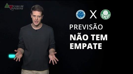 Cruzeiro x Palmeiras: veja onde assistir, escalações, desfalques e arbitragem