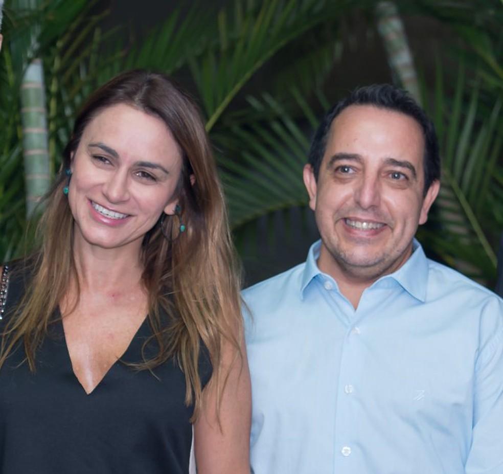 A advogada Tatiana Cavalcanti Teixeira Felício e o promotor de Justiça André Luís Felício — Foto: Facebook/Reprodução